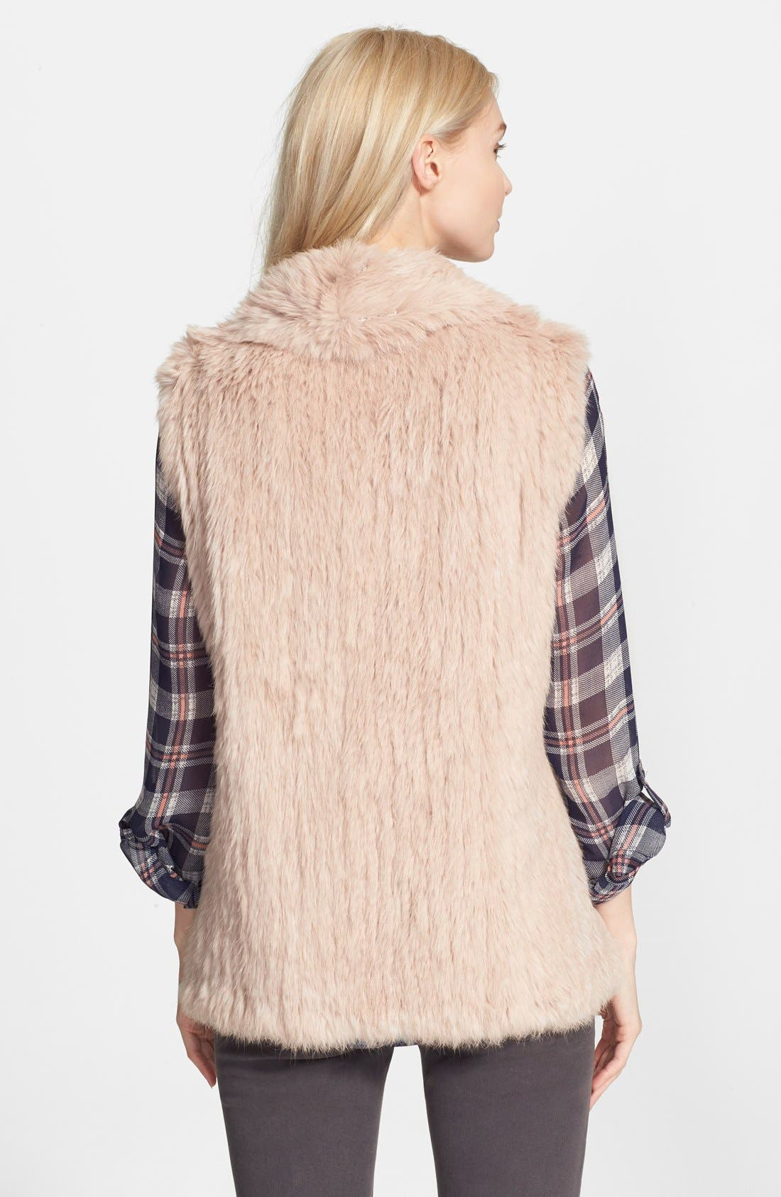 Alternate Image 2  - Joie 'Amery' Genuine Rabbit Fur Vest