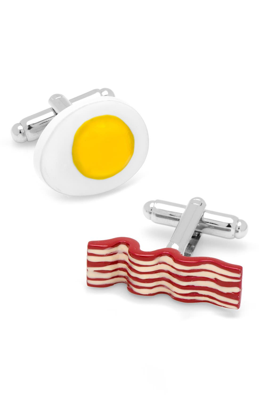 Main Image - Cufflinks, Inc. Bacon & Eggs Cuff Links