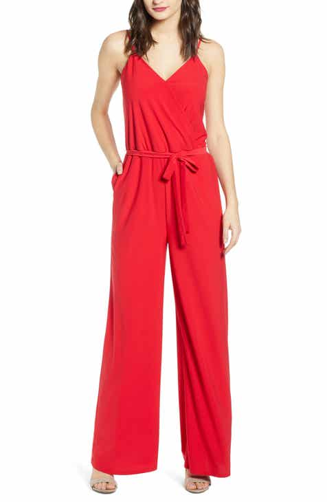 Spacial Price Chelsea28 Side Tie Jumpsuit Today Only Sale