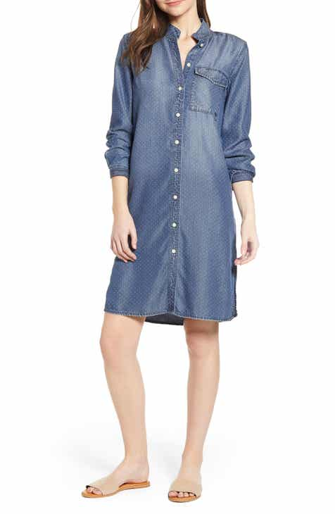 3fcfa05027522 Current/Elliott The Cardinal Long Sleeve Shirtdress