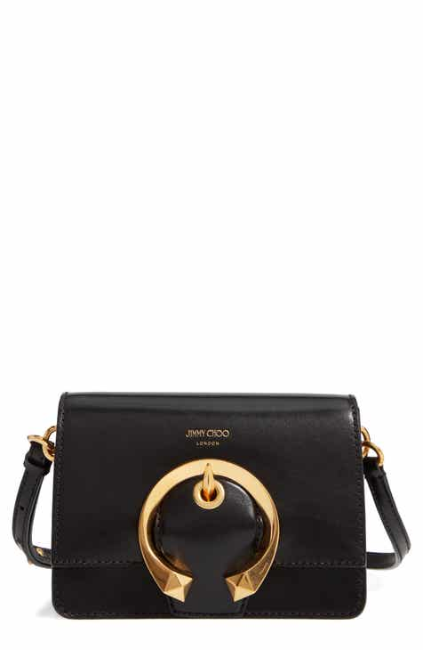 29d940dca9 Jimmy Choo Madeline Goatskin Leather Shoulder Bag