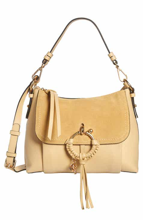 187fe01a7989 See by Chloé Small Joan Suede   Leather Crossbody Bag