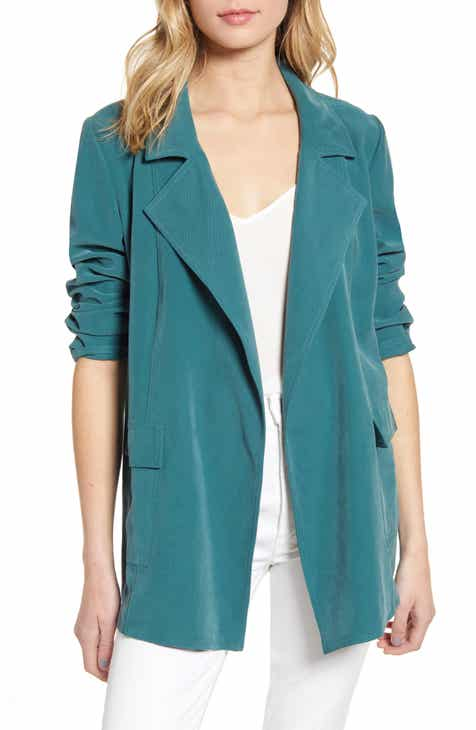 Chelsea28 Drapey Blazer By CHELSEA28 by CHELSEA28 Today Only Sale