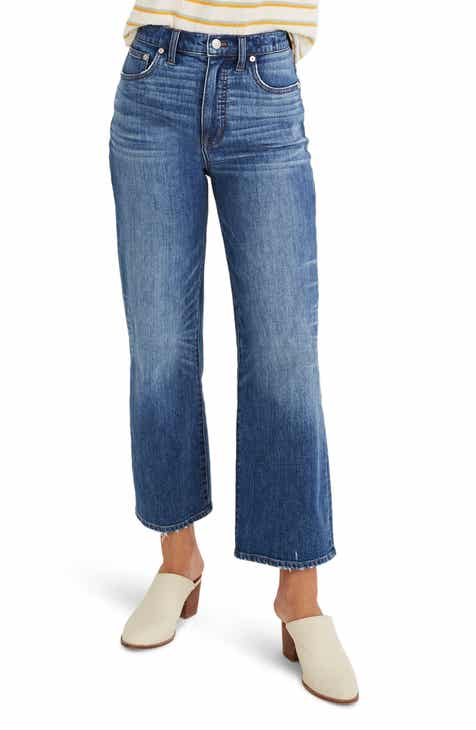 ea0f680d5 Madewell Slim Wide Leg Jeans (Garrett) (Regular   Plus Size)