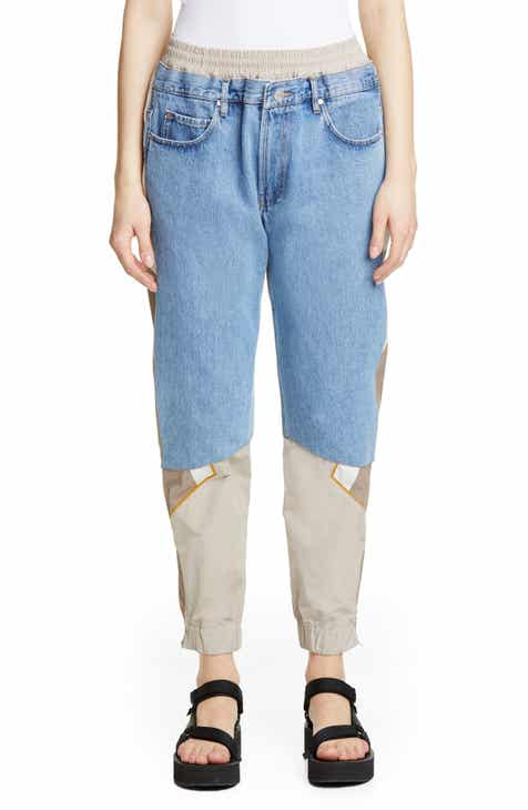 Martine Rose Hybrid Denim Track Pants by MARTINE ROSE