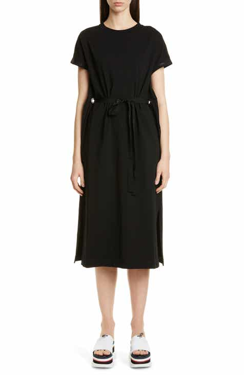 Jason Wu Long Sleeve Crinkle Silk Chiffon Midi Dress by JASON WU GREY
