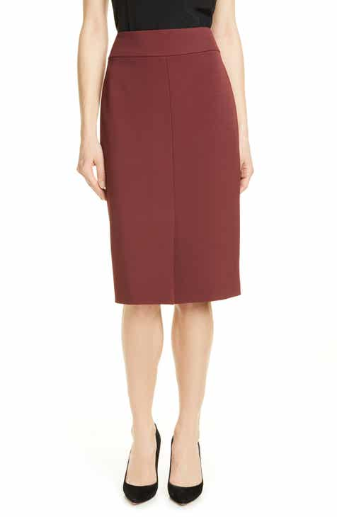 BOSS Vemiara Pencil Skirt by BOSS HUGO BOSS