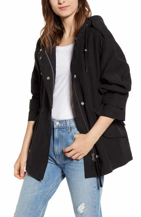 ALLSAINTS Kelsie Nilba Hooded Jacket by ALLSAINTS