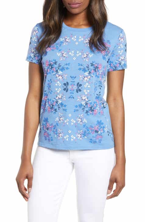 1d0327fbe6 Lucky Brand Multicolor Floral Print Tee