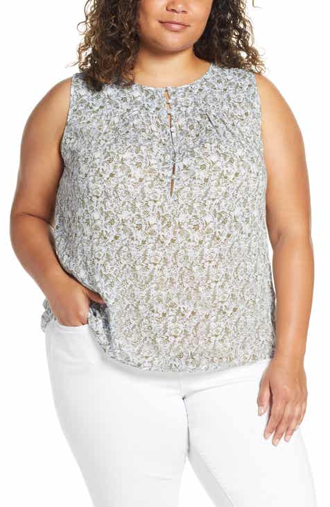 1bf8a7566 Women's Lucky Brand Plus-Size Tops | Nordstrom