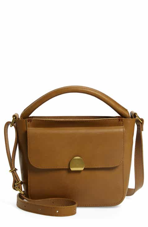 75c8ae49d41 Madewell The Mini Abroad Leather Crossbody Bag