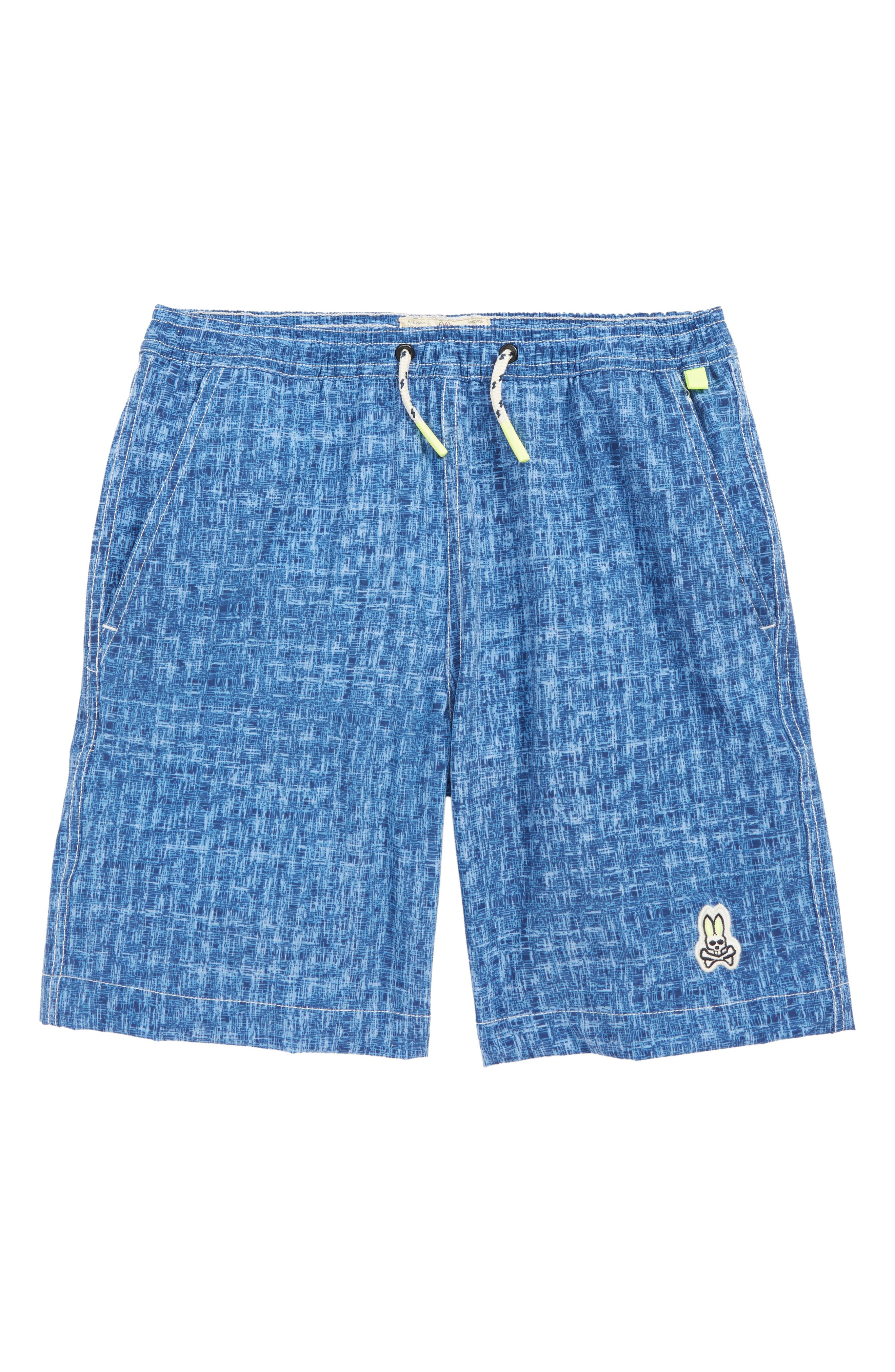 Billabong JACKSON BOYS Grey Blue Brown Plaid Pockets Boy/'s Shorts