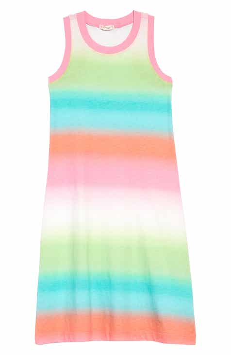 a93eeac725d crewcuts by J.Crew Ombré Stripe Maxi Dress (Toddler Girls