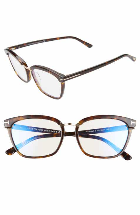 bab4efa51e0e Tom Ford 55mm Blue Light Blocking Glasses