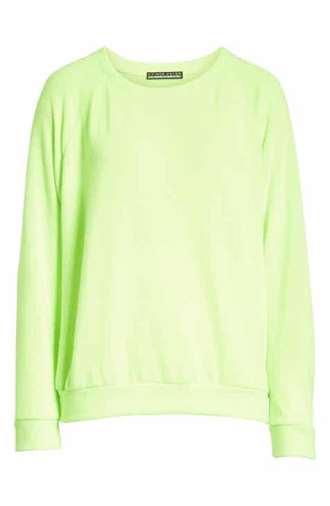 Hanes Luxe Raglan Fleece Sweater by HANES LUXE
