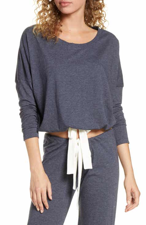 0253d1f4eac Eberjey Heather Knit Slouchy Tee