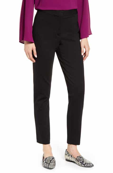Akris 'Melissa' Slim Techno Cotton Ankle Pants by AKRIS