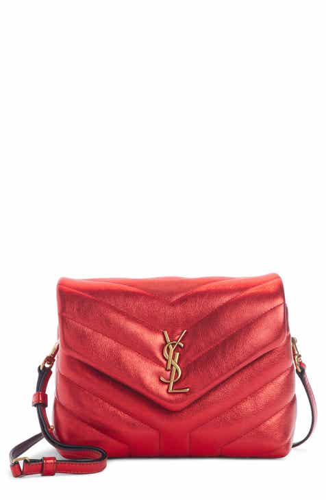 89be8ef766bf Saint Laurent Toy Loulou Matelassé Leather Crossbody Bag