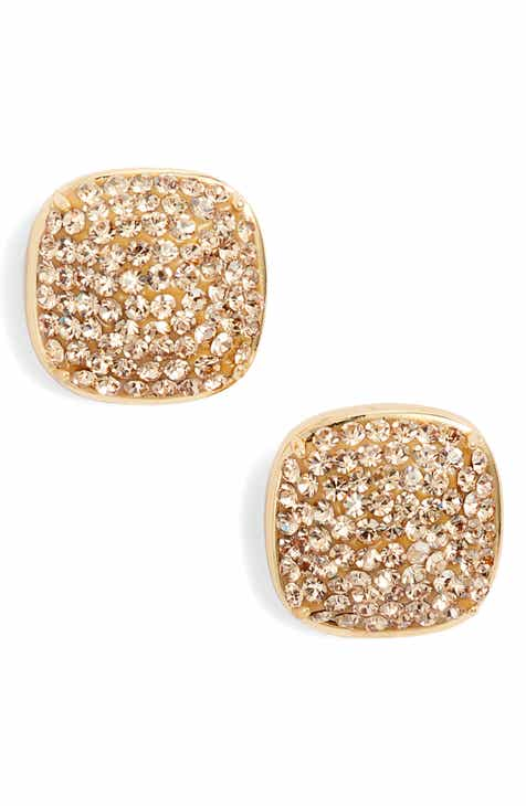 7bf13fd76 kate spade new york pavé small square stud earrings
