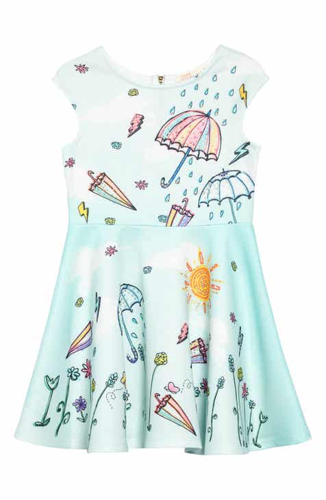 fcdf0ae11c Truly Me Rainy Days Embellished Dress (Toddler Girls   Little Girls)
