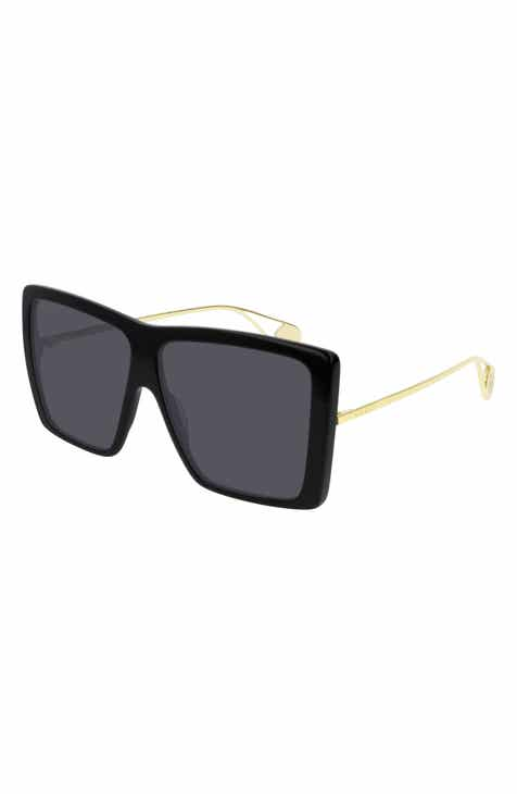 2ba6d1eebbd Gucci 61mm Square Sunglasses