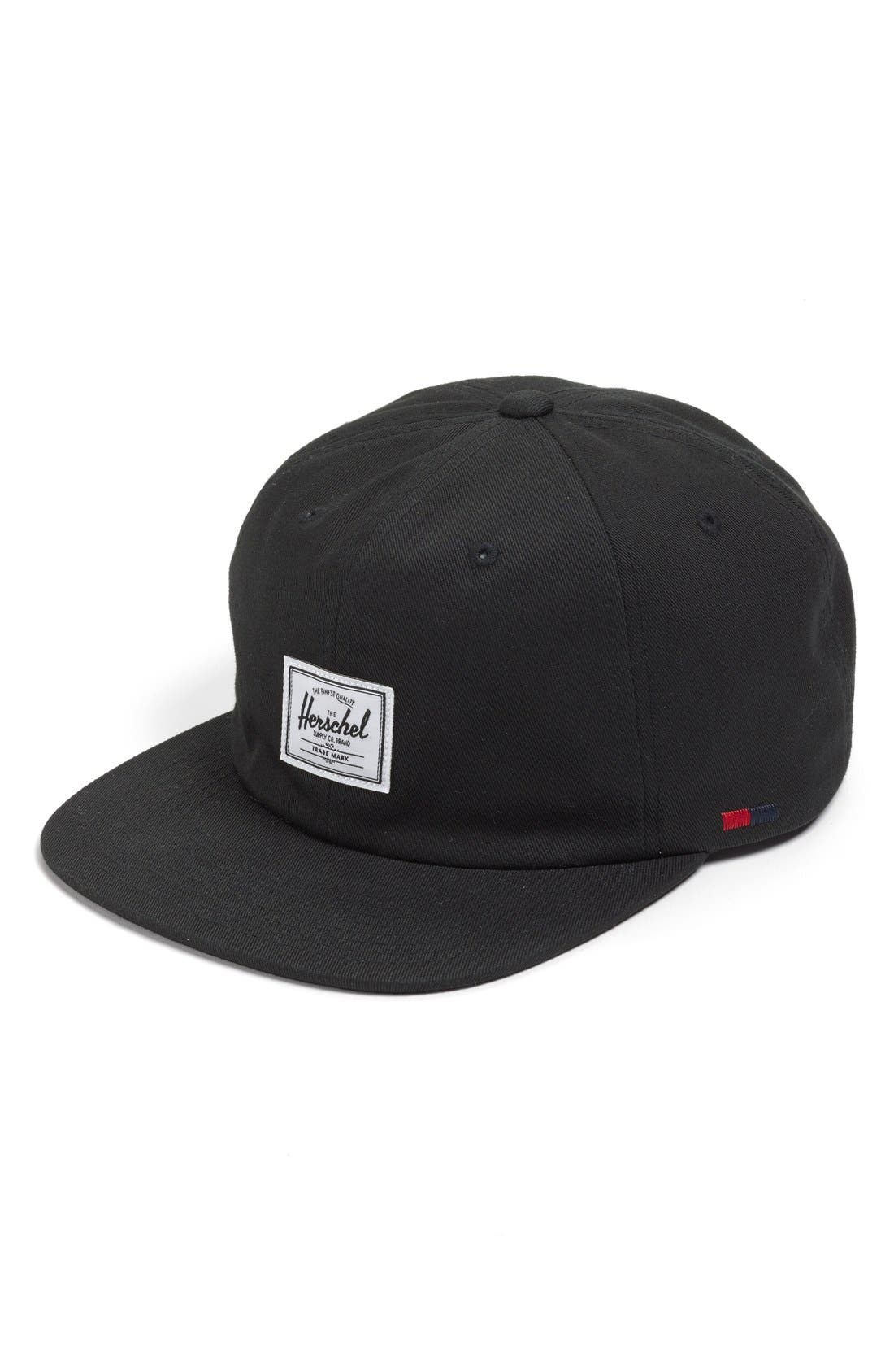 'Albert' Ball Cap,                         Main,                         color, Black