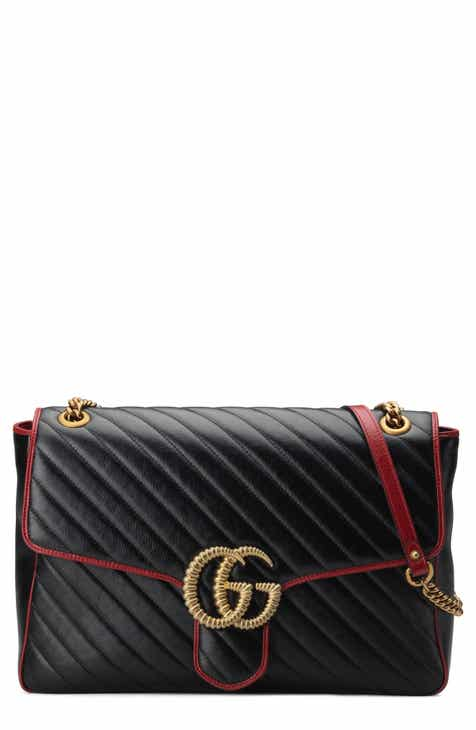 3757889ad58 Gucci Large GG Marmont 2.0 Matelassé Leather Shoulder Bag