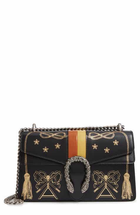 2976d3722f4 Gucci Small Dionysus Leather Shoulder Bag