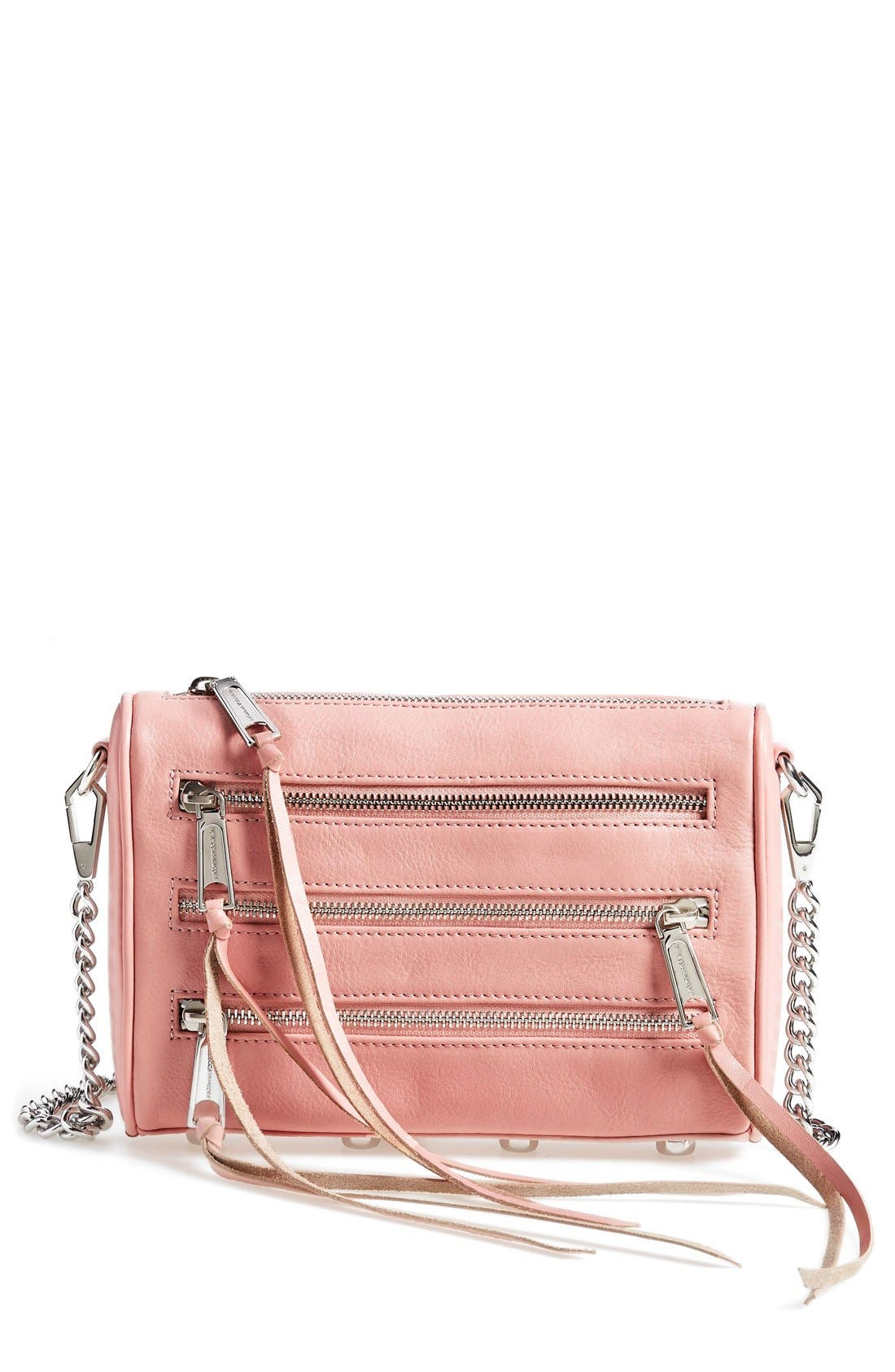 Main Image - Rebecca Minkoff 'Mini 5 Zip' Convertible Crossbody Bag