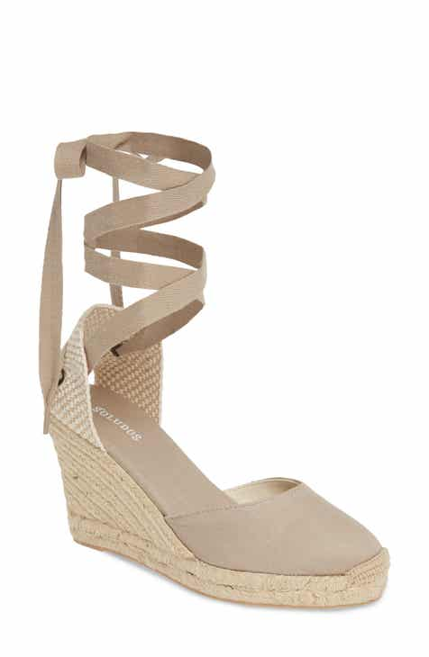 897eb1b851 Soludos Wedge Lace-Up Espadrille Sandal (Women)