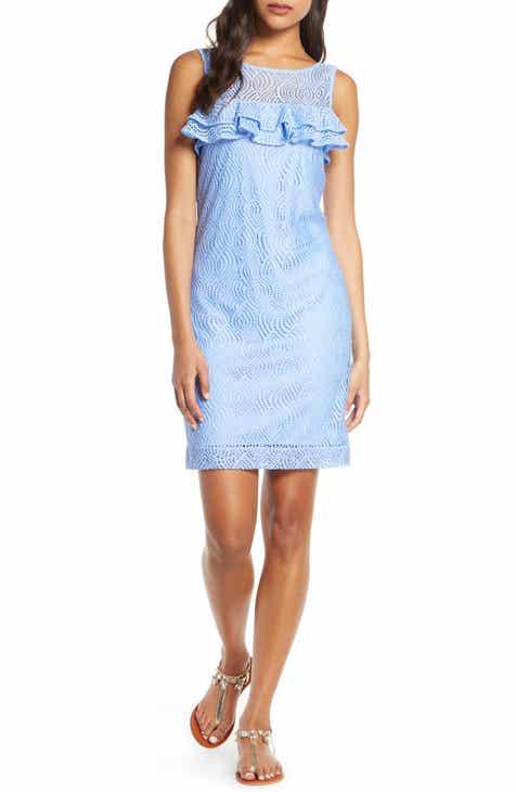 Lilly Pultizer® Janine Sleeveless Lace Shift Dress