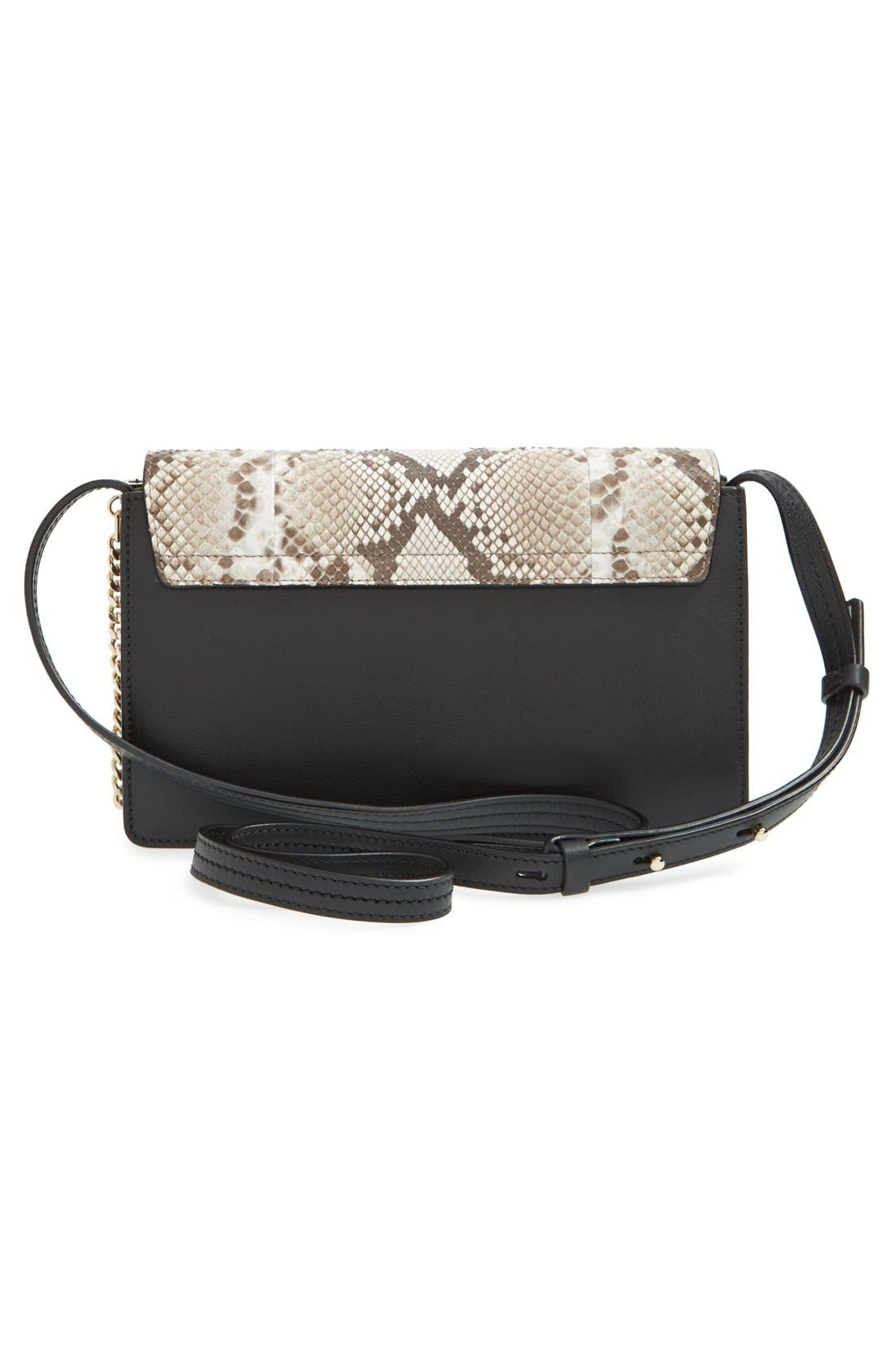Alternate Image 3  - Chloé 'Small Faye' Genuine Python & Leather Shoulder Bag