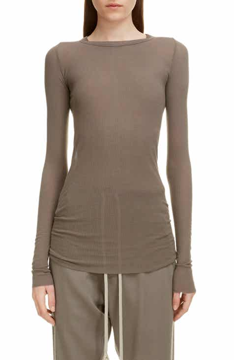 finest selection 34cc2 9a568 Women's Rick Owens Tops | Nordstrom