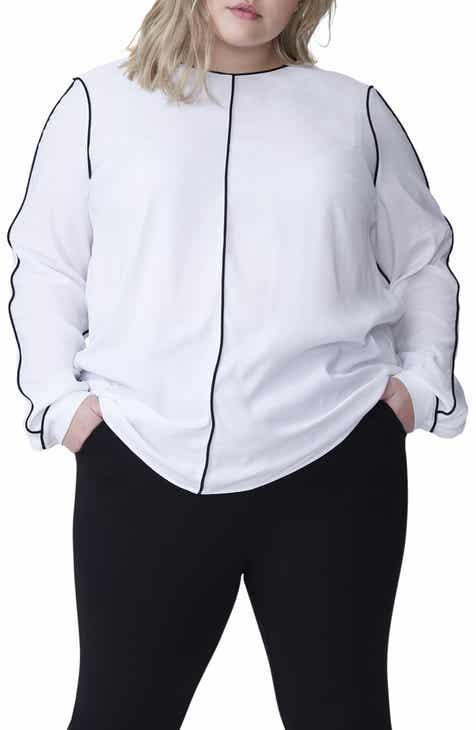 Women\'s White Plus-Size Tops | Nordstrom