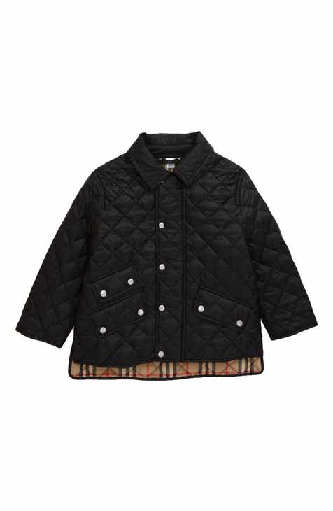0d1c51867b Burberry Brennan Water Resistant Diamond Quilted Jacket (Toddler Boys,  Little Boys & Big Boys)