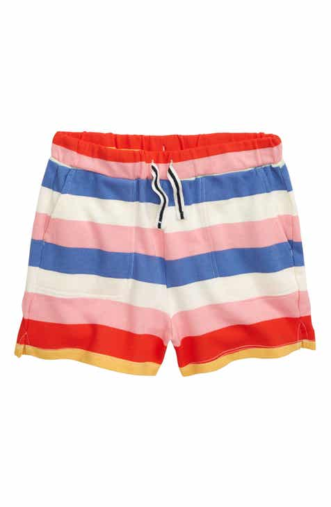 8c1aeebfeb crewcuts by J.Crew Rugby Stripe Pull-On Shorts (Toddler Girls, Little Girls  & Big Girls)