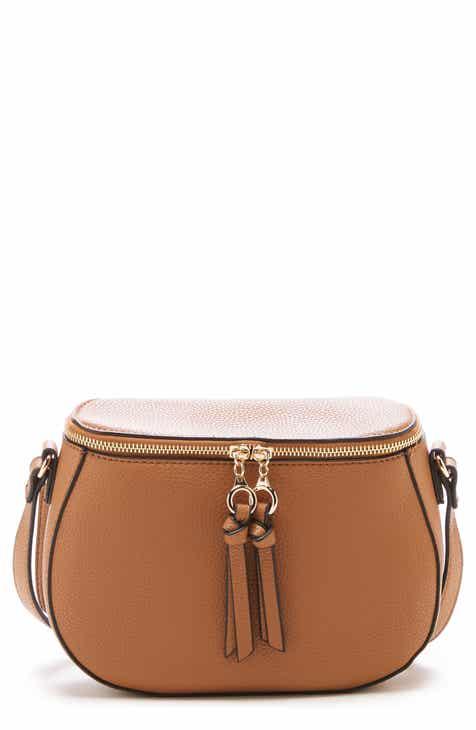 b5a91cc70b8 Sole Society Deana Faux Leather Crossbody Bag