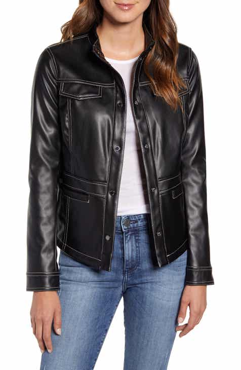 c0bad2611f4 Women's Leather & Faux Leather Coats & Jackets | Nordstrom