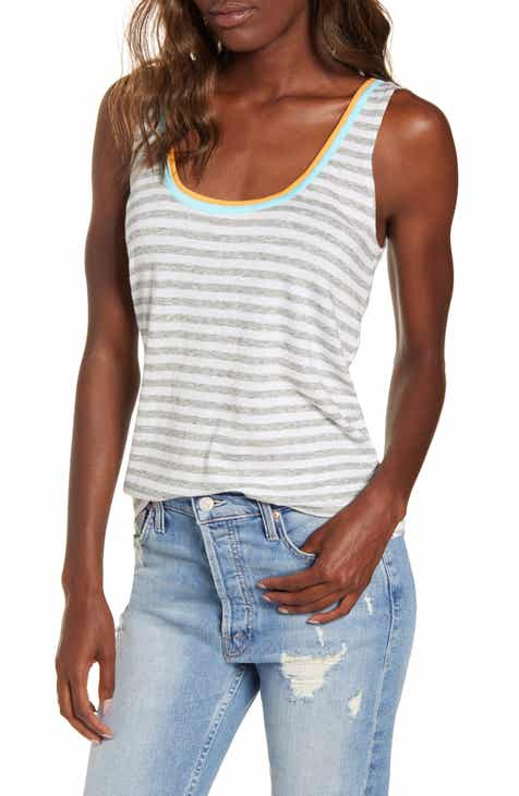 4168bdf9 Splendid Seaside Stripe Cotton Tank Top