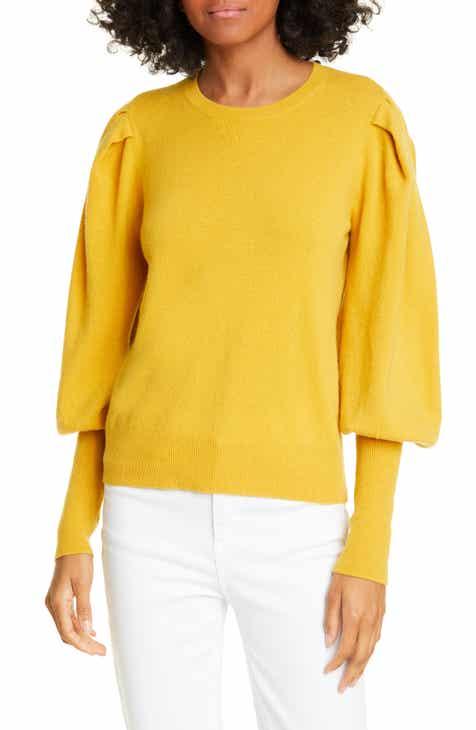 35e45eb815beeb Jonathan Simkhai Puff Sleeve Cashmere Sweater