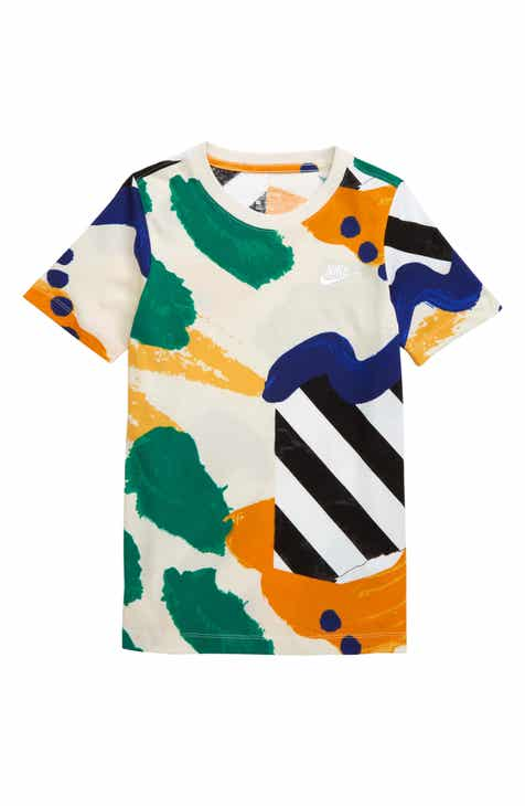 0878ad0888ad Nike Sportswear Summer Print T-Shirt (Little Boys & Big Boys)
