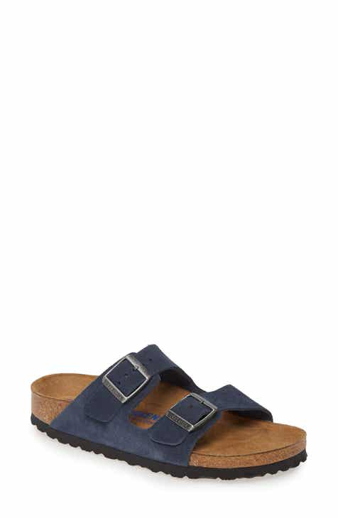 2ba5ce9e8d Birkenstock 'Arizona' Soft Footbed Suede Sandal (Women)