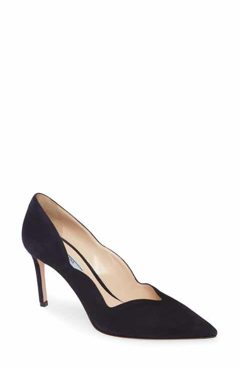 2c841d5e1 Prada Scallop Pointy Toe Pump (Women)