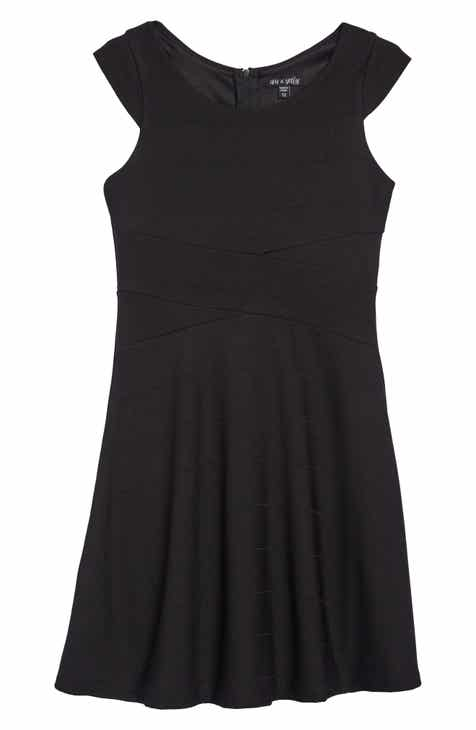 e097a167f35c6 Ava & Yelly Skater Dress (Big Girls)