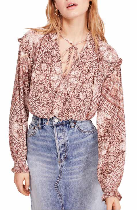 a36995b18b82bb Free People Little Runaway Blouse
