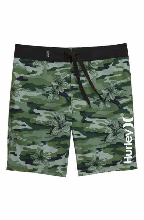 9c09f6fe06 Hurley Floral Camo Board Shorts (Toddler Boys & Little Boys)