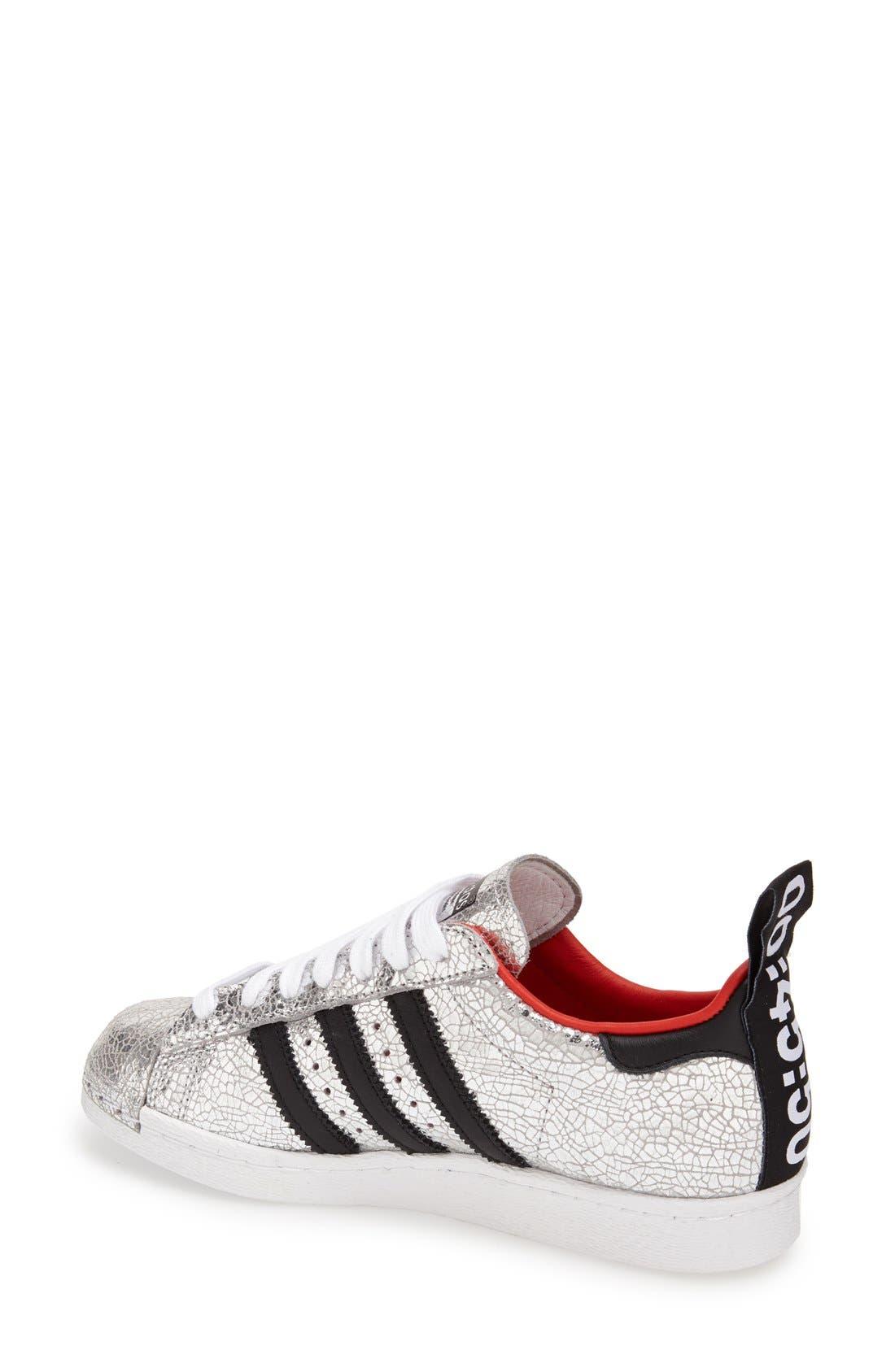 Alternate Image 2  - Topshop for adidas Originals '80s Premium Superstar' Sneaker (Women)
