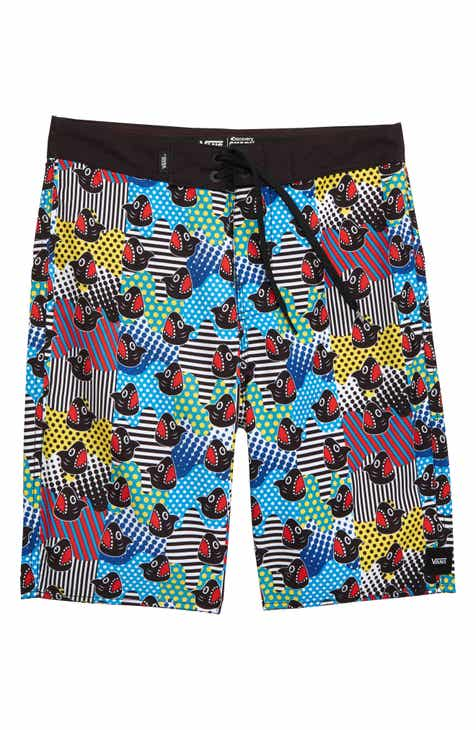 35ad40b83e Vans x Shark Week Recycled Polyester Board Shorts (Big Boys)