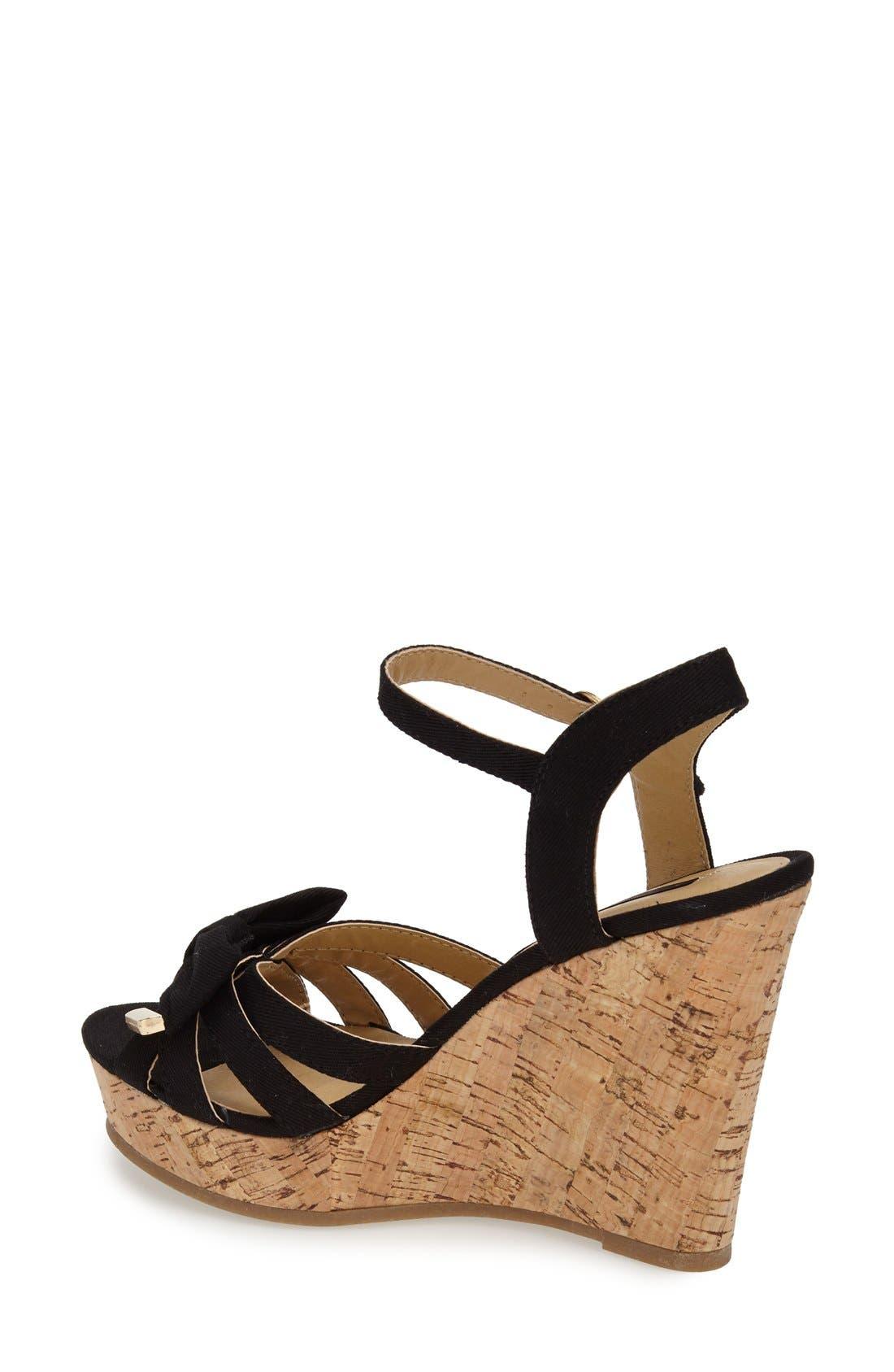 Alternate Image 2  - kensie 'Rayna' Wedge Sandal (Women)