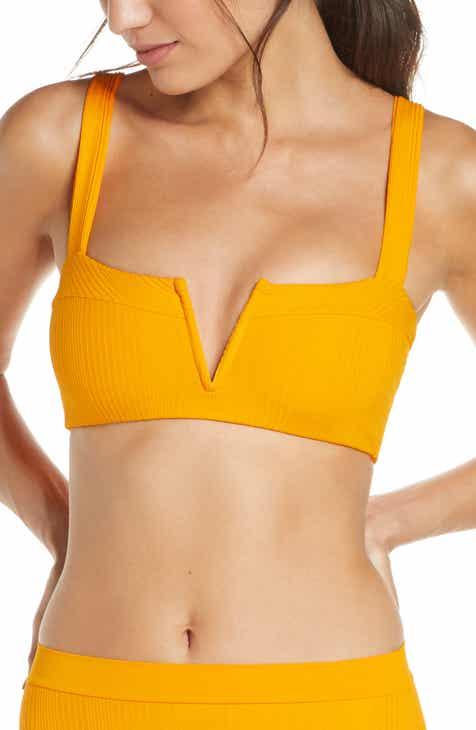 L Space Lee Lee Ribbed Bikini Top